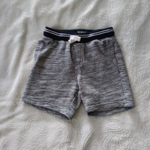 OshKosh Baby Feathered Grey Sweat Shorts